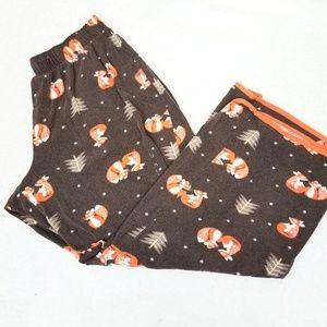 Pants - Fox Sleep Pants Elastoc Waistband